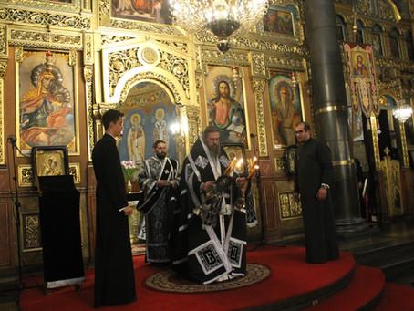 """Последното """"Последование на Жениха"""" бе отслужено в митрополитската катедрала """"Св. Неделя"""""""