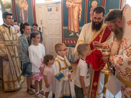 Архиерейска св. Литургия в чест на св. Максим Изповедник