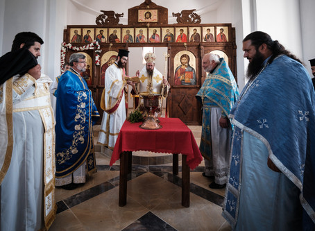 """Храм """"Св. Анна"""" в с. Велковци почете своя храмов празник с архиерейска св. Литургия"""