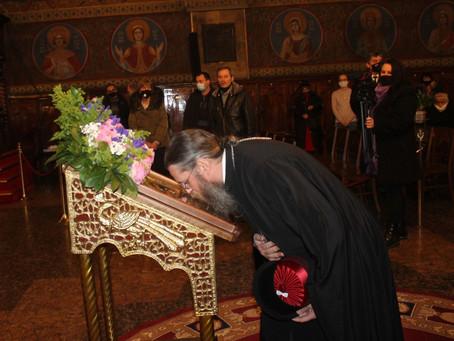 В София съборно бе прочетена първа статия на Богородичния акатист