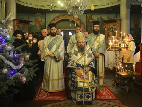 Рождество Христово и монашеско пострижение в Самоковския манастир