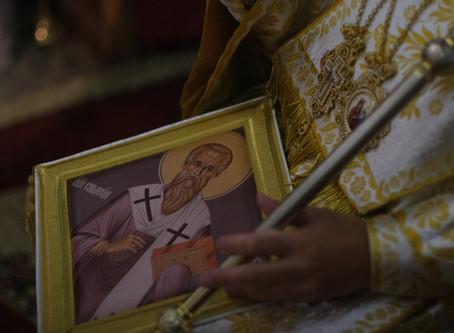 В Бельова черква край гр. Самоков бе почетен св. Симеон Самоковски с архиерейска служба