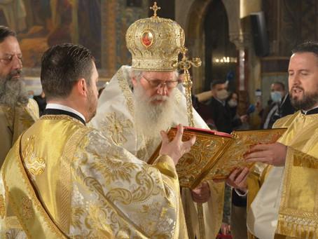 Патриарх Неофит възглави празничното богослужение за Бъдни вечер в Патриаршеската катедрала