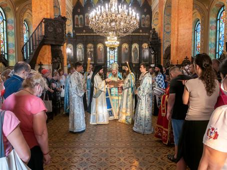 """Молебният канон на Св. Богородица бе изпълнен в столичния храм """"Св. св. Кирил и Методий"""""""