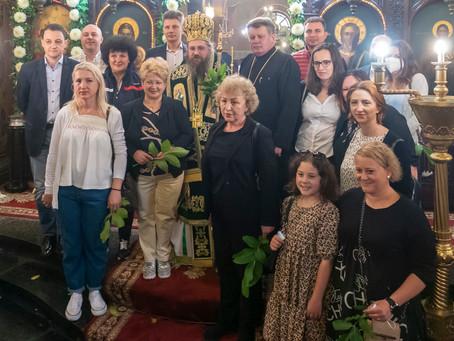 """Архиерейска света Литургия за Петдесетница бе отслужена в Румънския храм """"Св. Троица"""""""