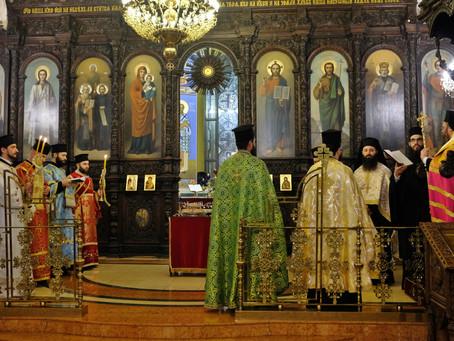 """В столичния храм """"Св. св. Кирил и Методий"""" бе отслужена архиерейска вечерня"""