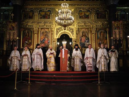 """Вечерня за второ Възкресение Христово бе отслужена в катедрален храм """"Св. вмчца Неделя"""""""