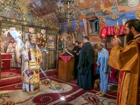 Празник на св. Симеон Самоковски с архиерейска св. Литургия и водосвет в Бельова църква