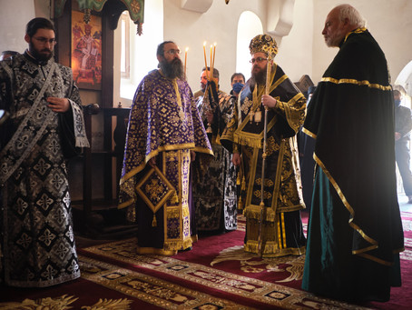 """Монашеско пострижение в Горноврабченския манастир """"Св. Възнесение Господне"""""""