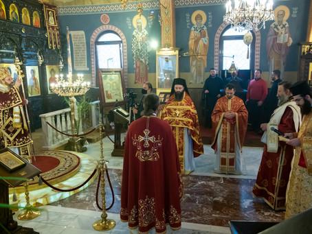 """Св. Варвара бе почетена в столичния храм """"Преображение Господне"""" с архиерейска св. Литургия"""