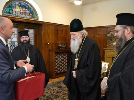 Българският патриарх Неофит прие посланика на Р Сърбия у нас