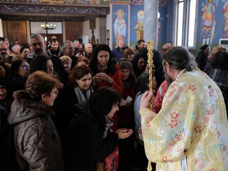 Дяконско ръкоположение за храмовия празник на св. Атанасий Велики в с. Лозен