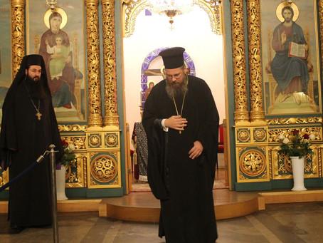 Съборно изпълнение на Великото повечерие с трета част от канона на свети Андрей Критски