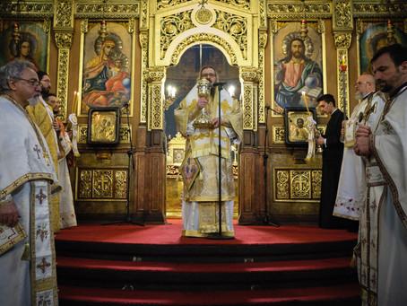 """Столичният катедрален храм """"Св. Неделя"""" почете Входа Господен в Йерусалим с архиерейска св. Литургия"""