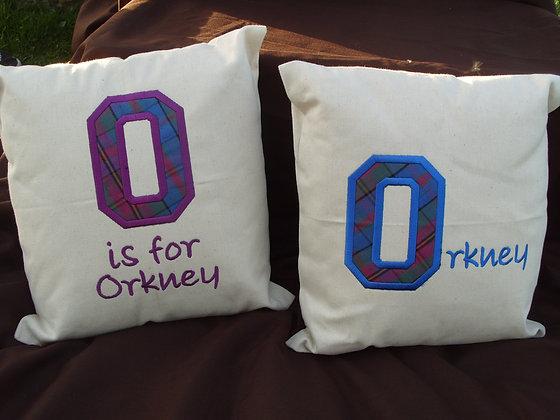 Limited edition Orkney Tartan Cushion