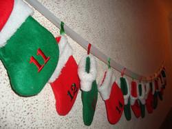Mini Stocking Advent Calendar