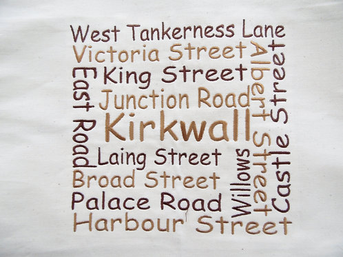 Kirkwall Street Wordle