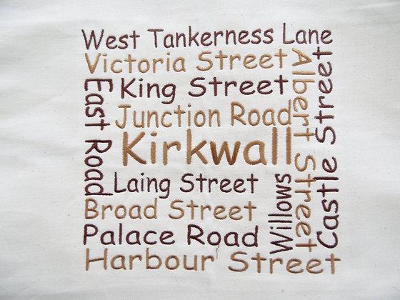 Kirkwall Street Wordle