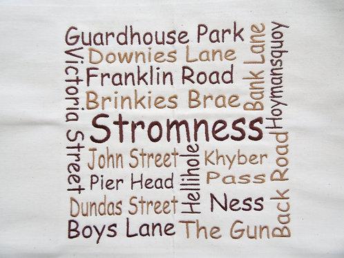 Stromness Street Wordle