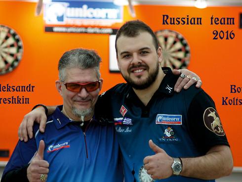 БОРИС КОЛЬЦОВ - ВТОРОЙ УЧАСТНИК PDC WORLD CUP 2016 ОТ РОССИИ