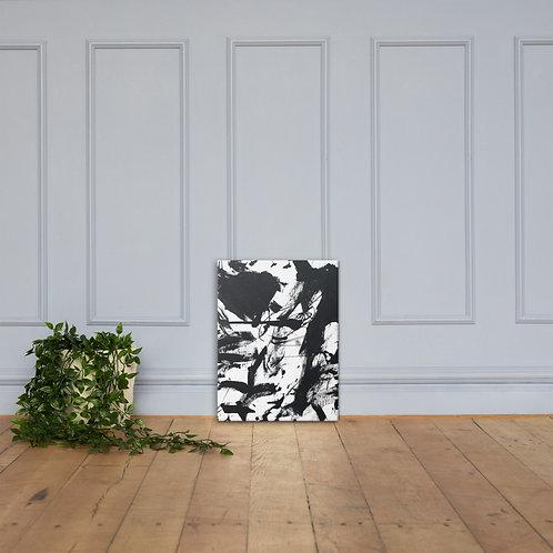 """Black"" Acrylic Canvas"