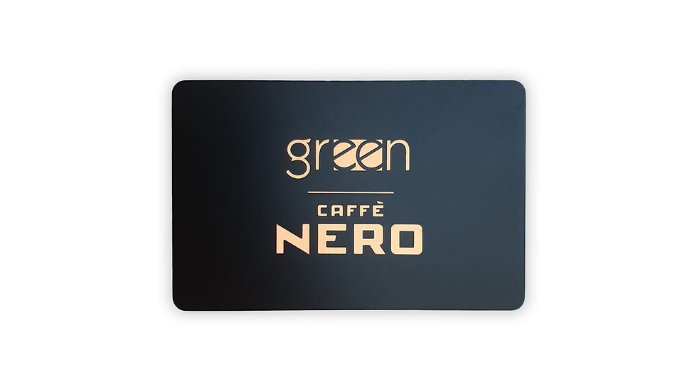 KARTA PODARUNKOWA GREEN CAFFE NERO 150 ZŁ