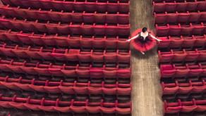 La grande bellezza di un Teatro vuoto. #Empty. Tutta la magia di un clic