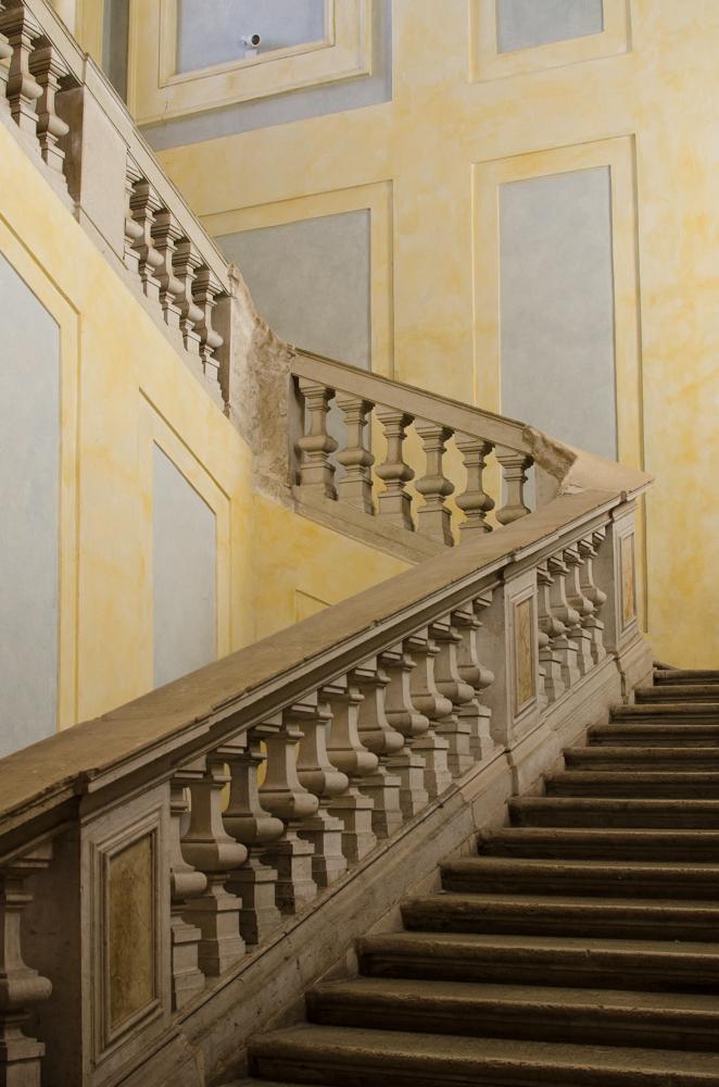 Palazzo Rasponi ex Tribunale scalone Morigia