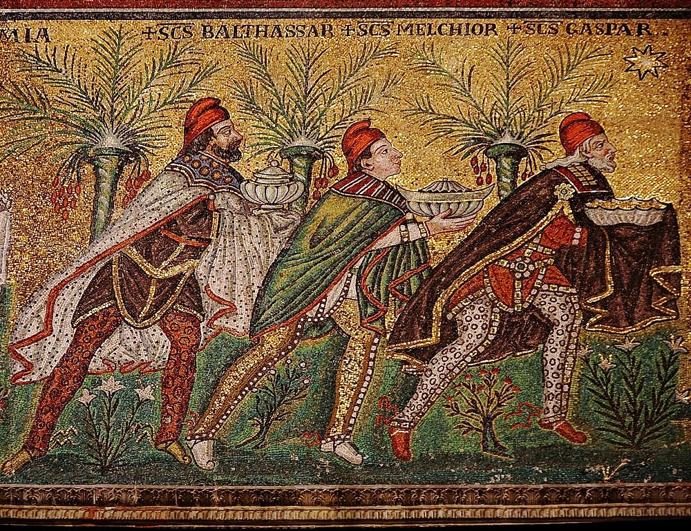 Basilica S. Apollinare Nuovo - Ravenna - mosaico VI secolo d.C.