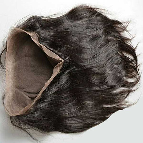(PARTY GIRL) Brazilian Straight 360 Lace Frontal