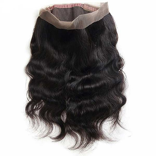 (SOPHISTICATED) Brazilian Body Wave 360 Lace Frontal