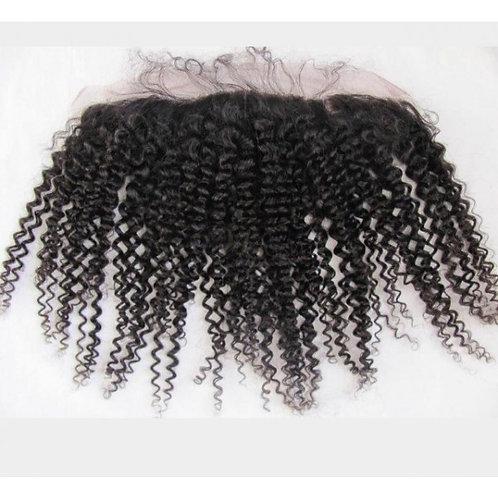 (SOPHISTICATED) Brazilian Kinky Curls 13x4 Lace Frontal