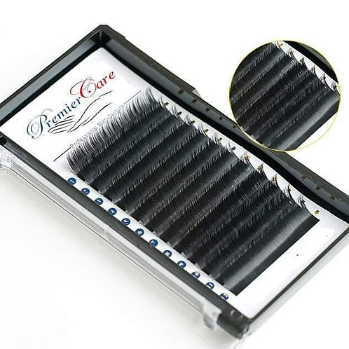 Individual Classic Eyelash Extensions, Mix 10-13mm (0.15)