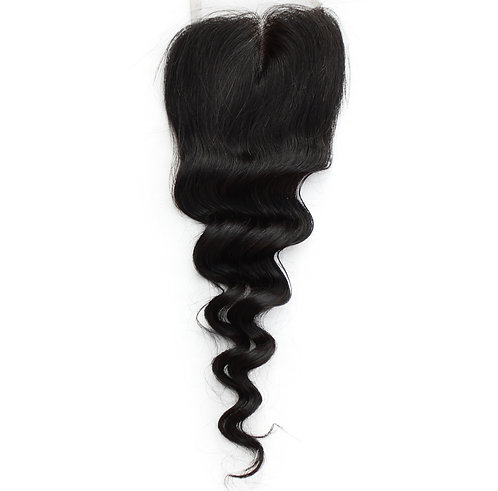(PARTY GIRL) Brazilian Loose Wave Closure