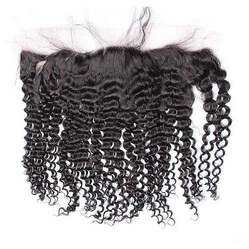 (PARTY GIRL) Brazilian Deep Wave 13x4 Lace Frontal