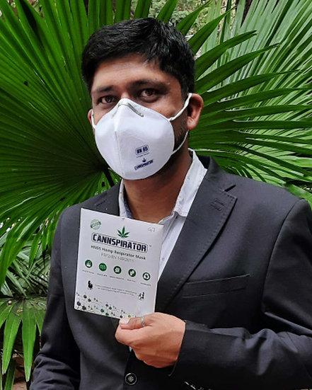 Cannspirator: HN95 Hemp Respirator mask