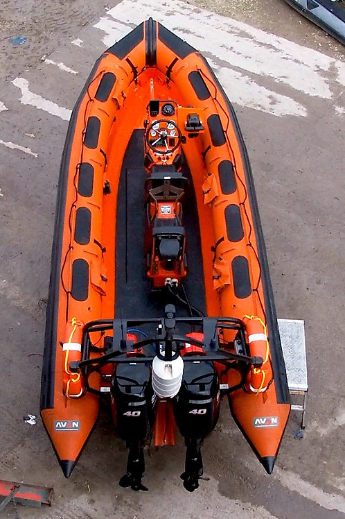 DeeBuoys II - Avon 5.4m Searider