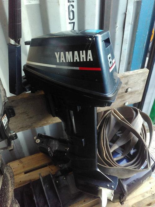 Yamaha 8hp - 2 stroke - 1990'S - Good runner - Long shaft