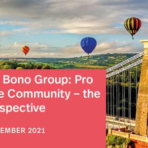 Pro Bono Week 2021 Event: Pro Bono in the Community – the Bristol Perspective