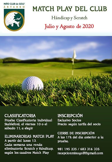 20200713 MATCH PLAY DEL CLUB 2020  # CAR