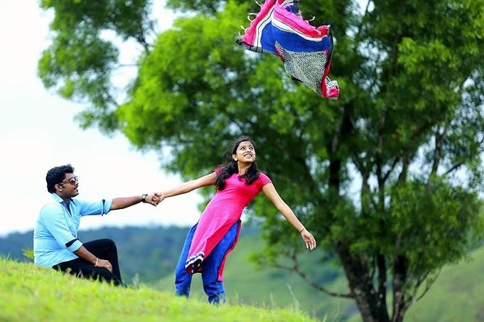 outdoor shooting Wagamon, Kerala__photo