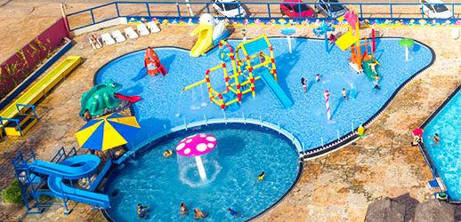 Área Infantil do BigBlue Parque Aquático