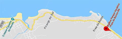 Mapa para o BigBlue Parque Aquático