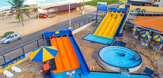 Rampas do BigBlue Parque Aquático
