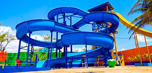 Toboágua do BigBlue Parque Aquático