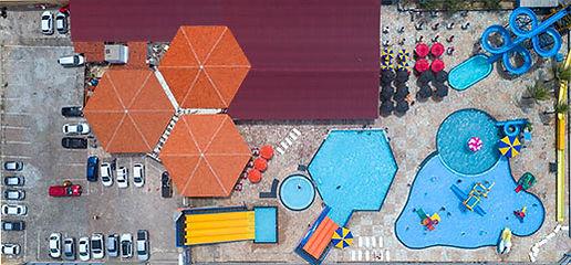 Localização do BigBlue Parque Aquático