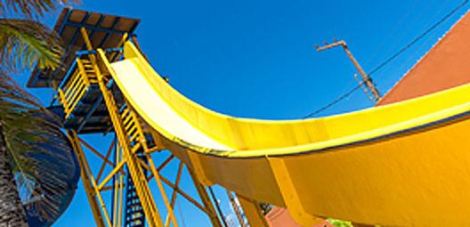 FreeFall do BigBlue Parque Aquático