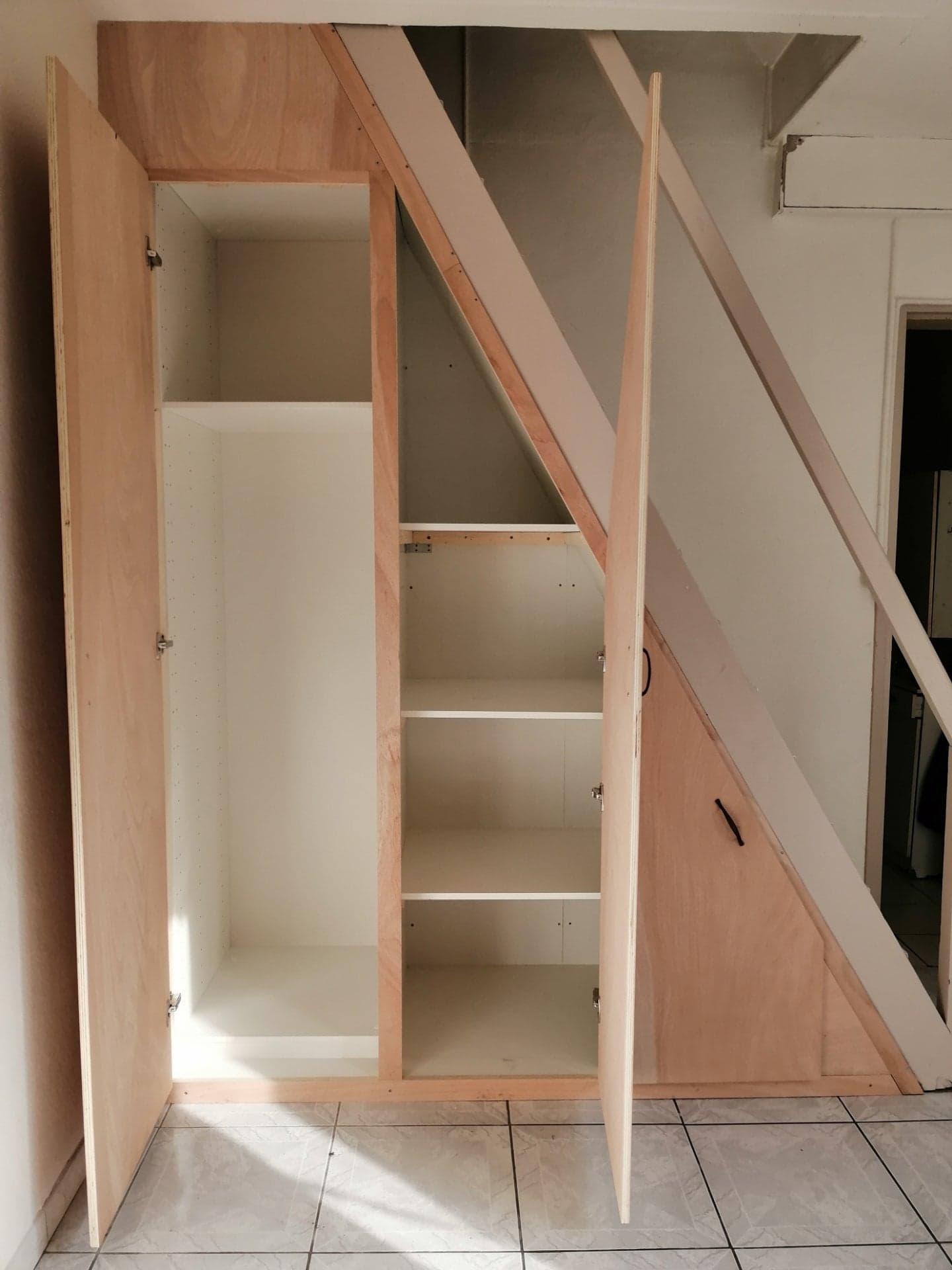 Aménagement sous escalier Pessac