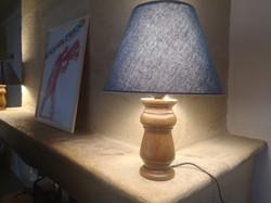 Création de 2 lampes en chêne
