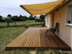 Création d'une terrasse à Camblanes (33)